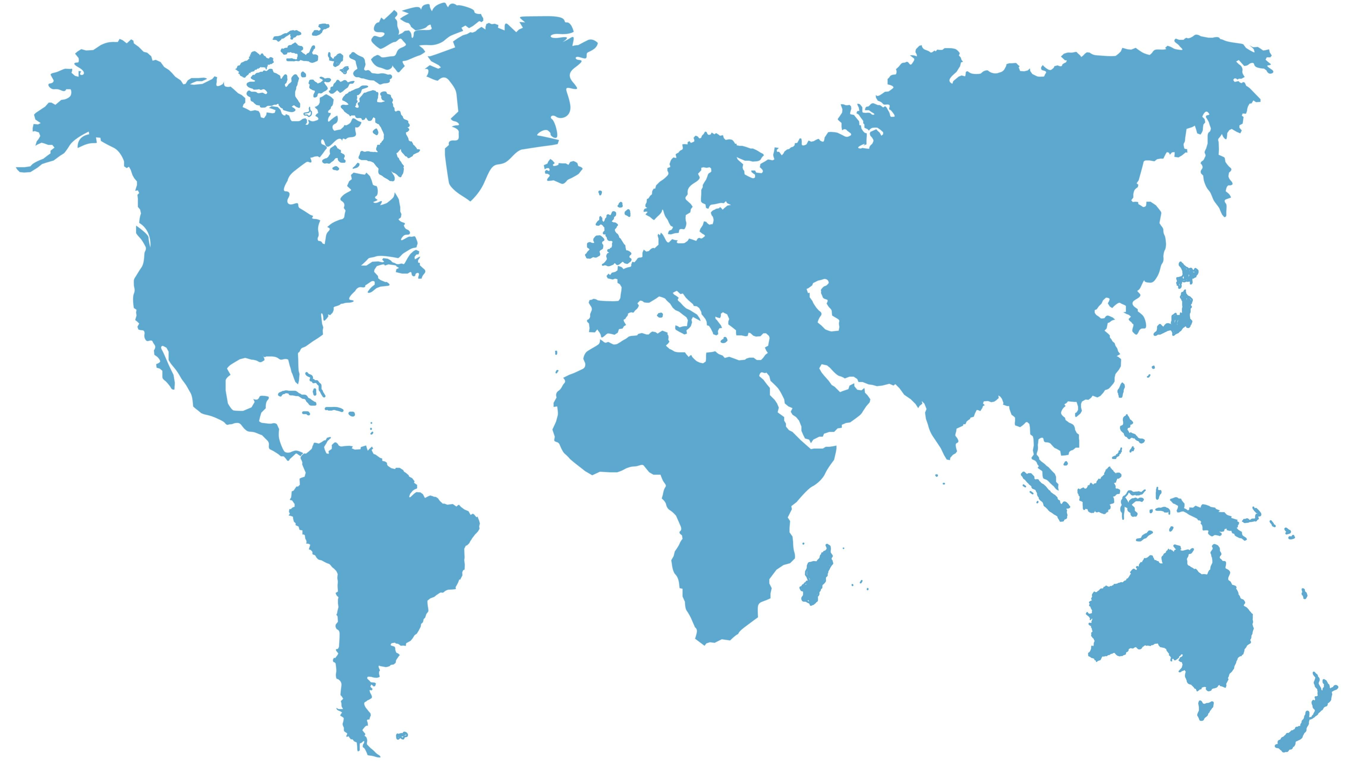 Weltkarte-geschnitten